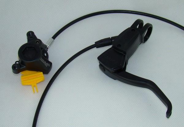 Hamulec hydrauliczny MAGURA LOUISE FR PRZÓD tarcza 210 mm IS 2000 czarna