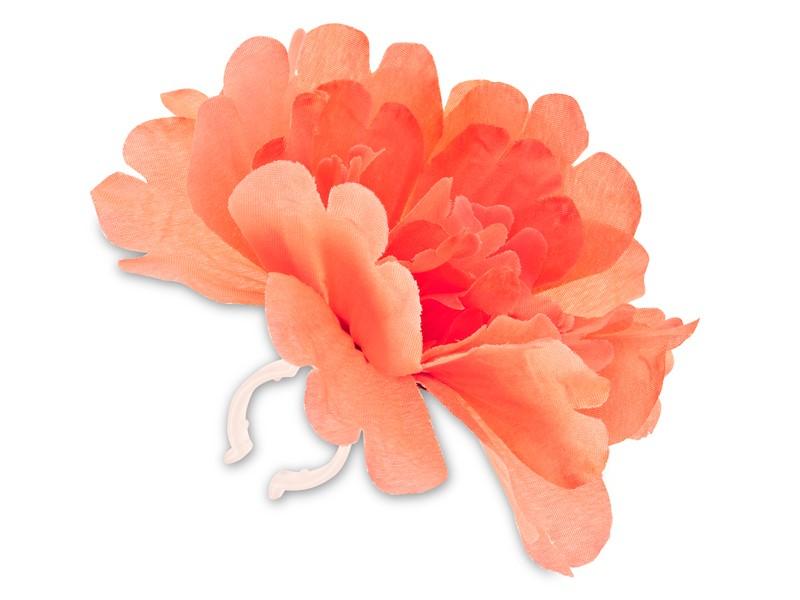 Kwiatek BASIL PEONY FLOWER mandarynka