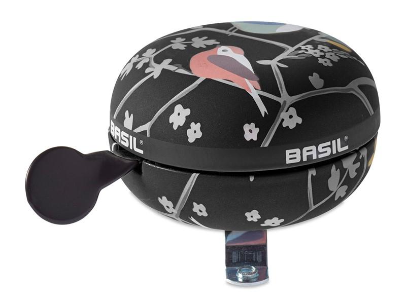 Dzwonek rowerowy BASIL BIG BELL WANDERLUST 80mm, charcoal