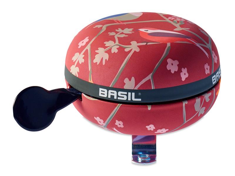 Dzwonek rowerowy BASIL BIG BELL WANDERLUST 80mm, vintage red