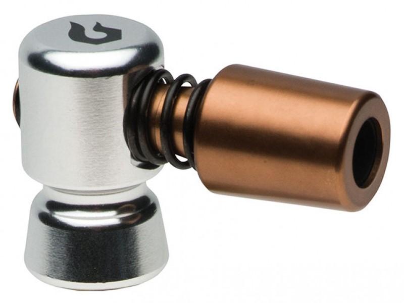 Pompka ręczna BLACKBURN WAYSIDE CO2 srebrna