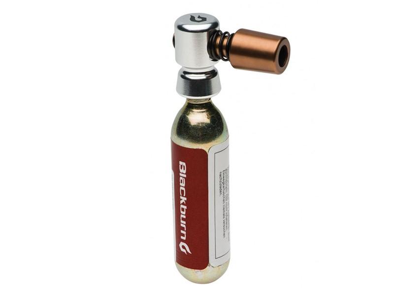 Pompka ręczna BLACKBURN WAYSIDE CO2 + 1x nabój gazowy 16g srebrny