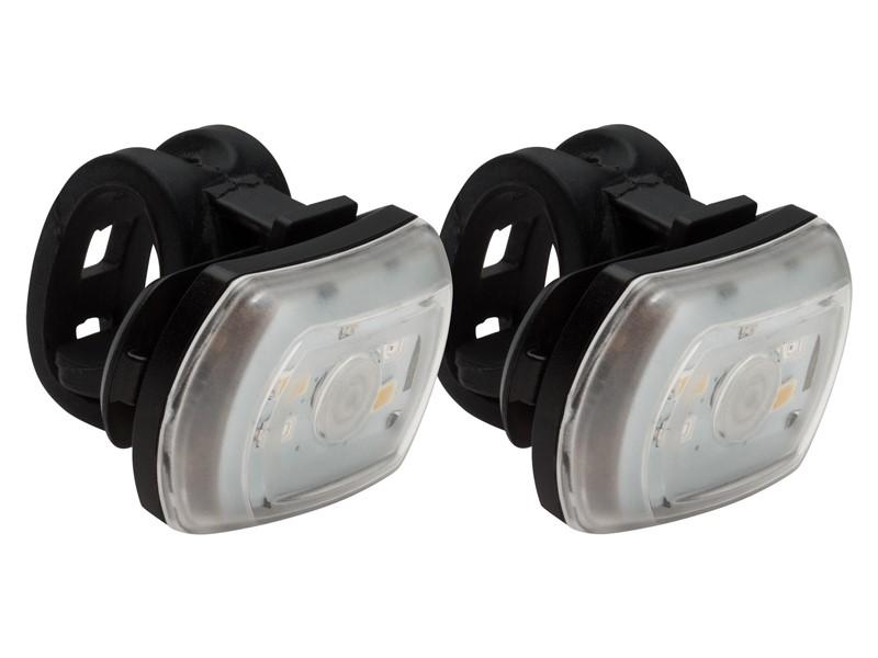 Zestaw Lampki BLACKBURN 2'FER USB przód 60 lumenów tył 20 lumenów czarna