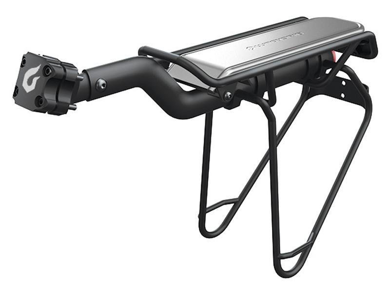 Bagażnik tylny BLACKBURN INTERLOCK na sztycę 22-32mm do 10kg szyfr czarny