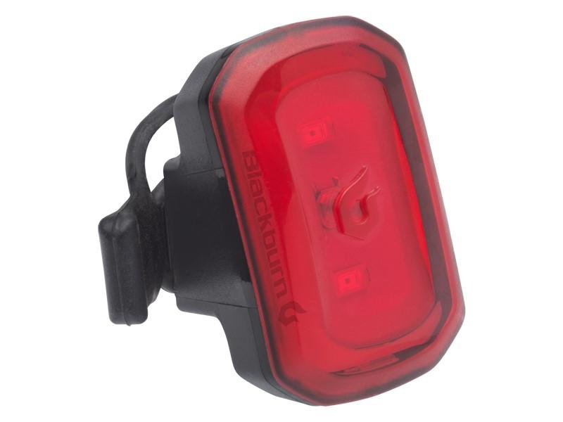 Lampka tylna BLACKBURN CLICK USB 20 lumenów czarne pudełko 8szt (NEW)