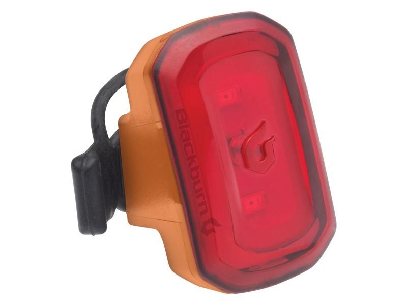 Lampka tylna BLACKBURN CLICK USB 20 lumenów pomarańczowa