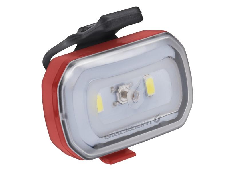 Lampka przednia BLACKBURN CLICK USB 60 lumenów czerwona
