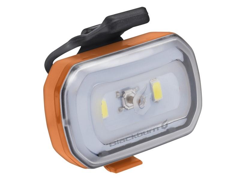 Lampka przednia BLACKBURN CLICK USB 60 lumenów pomarańczowa