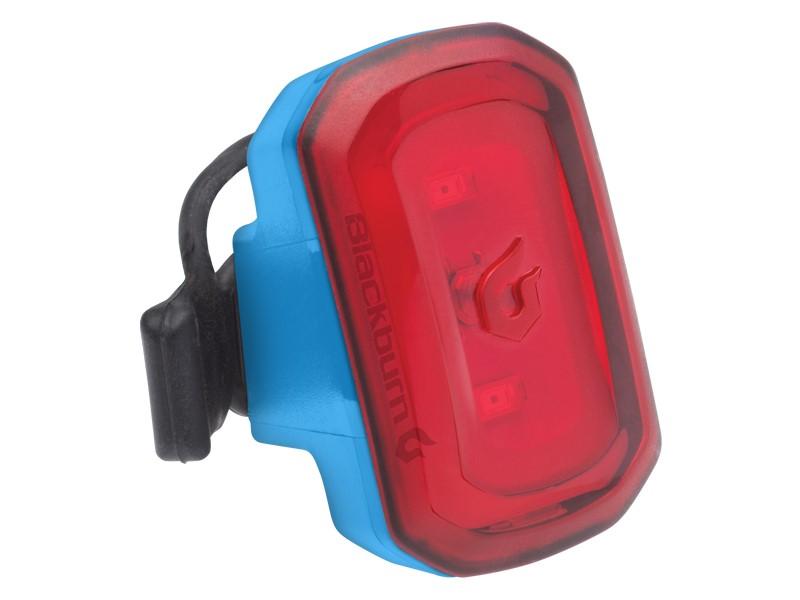 Lampka tylna BLACKBURN CLICK USB 20 lumenów niebieska