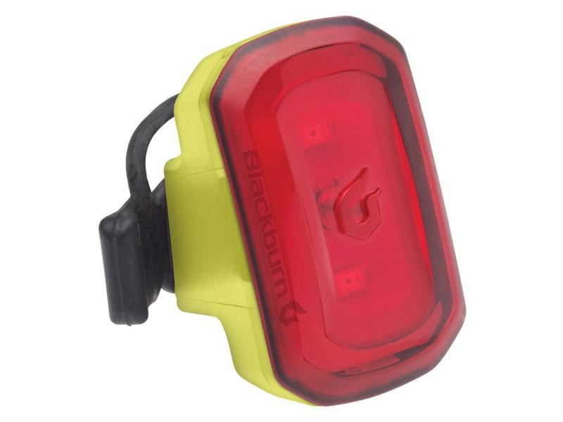 Lampka tylna BLACKBURN CLICK USB 20 lumenów żółta