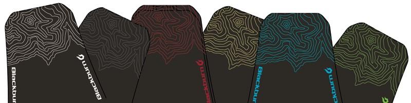 Błotnik przedni BLACKBURN BARRIER MUD GUARD mix kolorów pudełko 10szt.  (NEW)