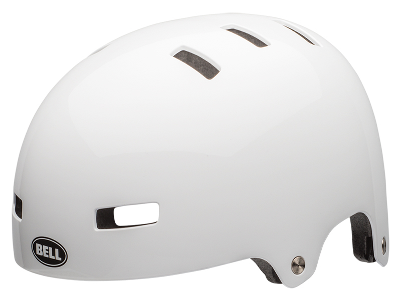 Kask bmx BELL LOCAL gloss white roz. S (51–55 cm) (NEW)