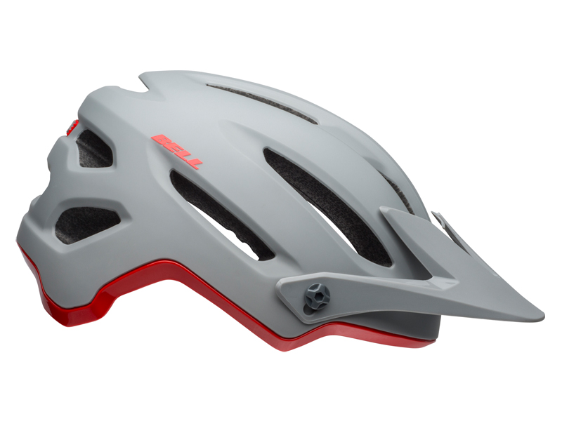 Kask mtb BELL 4FORTY INTEGRATED MIPS cliffhanger matte gloss gray crimson roz. L (58-62 cm) (NEW)