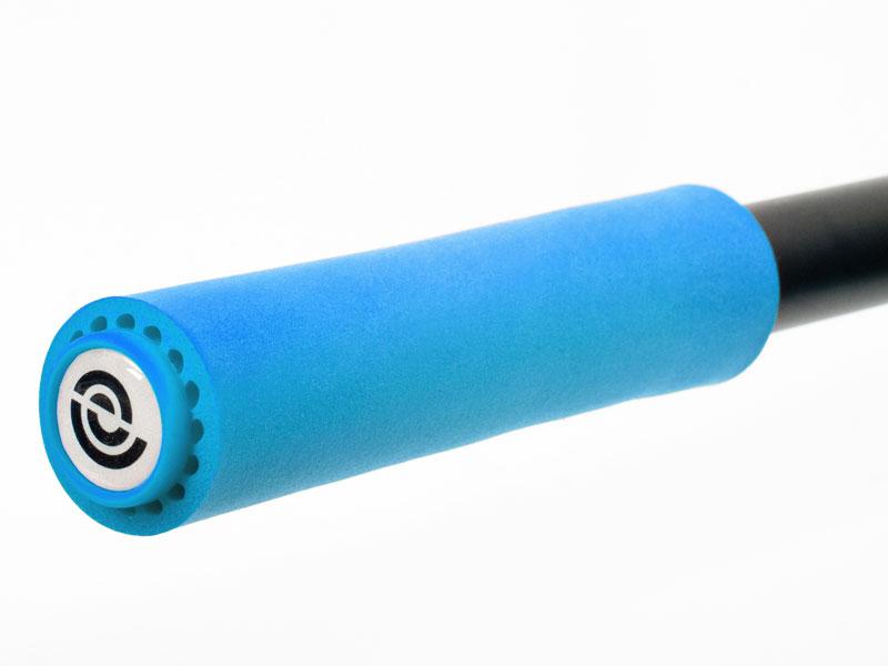 Chwyty kierownicy BIKE RIBBON SIO2 EXTRALITE 130mm 50gram silikon niebieskie