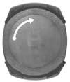 Podstawka pulsometra CICLOSPORT HAC 5
