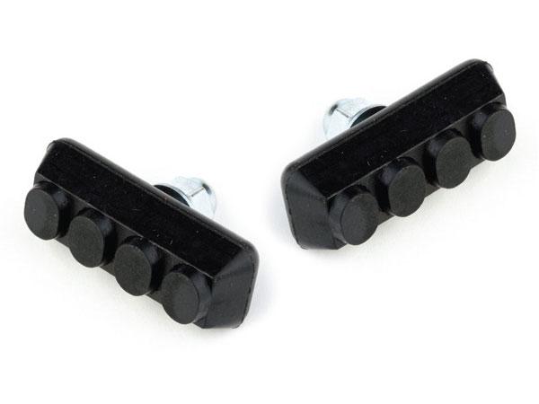 Klocki hamulcowe CLARK'S CP600 BMX (V-brake, Warunki Suche) czarne