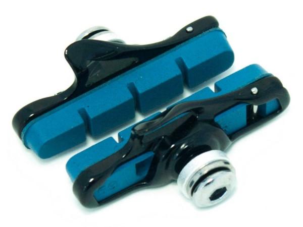 Klocki hamulcowe CLARK'S CPS453 CARB SZOSA (Shimano, Obudowa aluminiowa, Do obręczy karbonowych) niebieskie