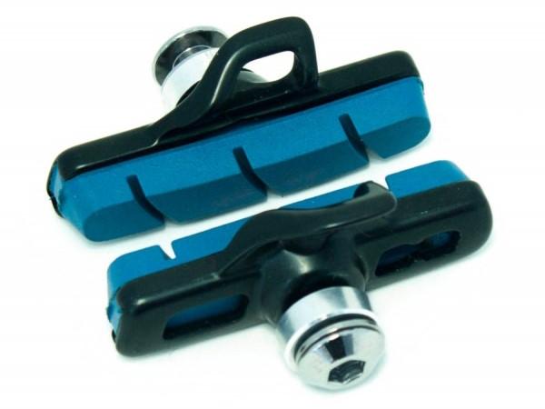 Klocki hamulcowe CLARK'S CPS460 CARB SZOSA (Campagnolo, Obudowa aluminiowa, Do obręczy karbonowych) niebieskie