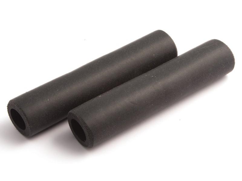 Chwyty kierownicy CLARK'S CS-004 130mm silikonowe czarne