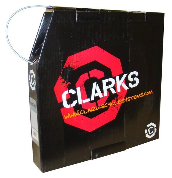 Przewód hamulca hydraulicznego CLARK'S do: SHIMANO srebrny pudełko: 30metrów