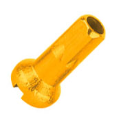 Nyple CNSPOKE AN12 12mm aluminiowe złote 144szt.