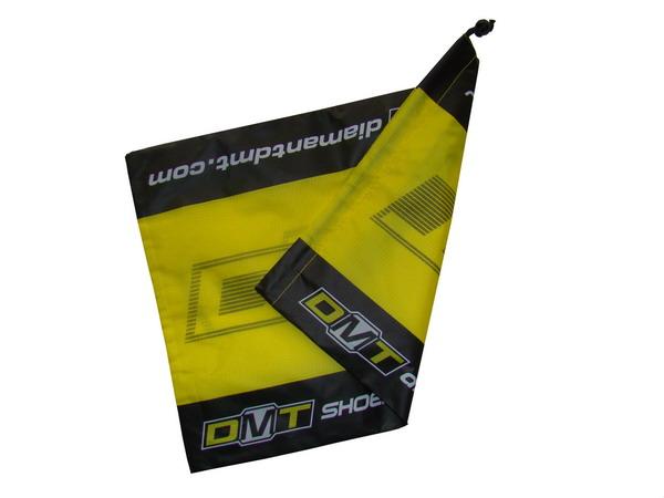 Pokrowiec na buty DMT żółto-czarny