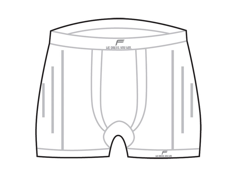 Boxerki męskie FUSE STAYCOOL Megalight 140 / L białe