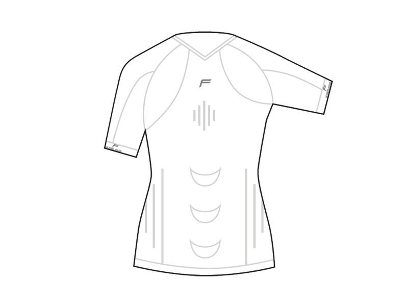 Koszulka damska FUSE STAYCOOL Megalight 140 T-Shirt / XL biała