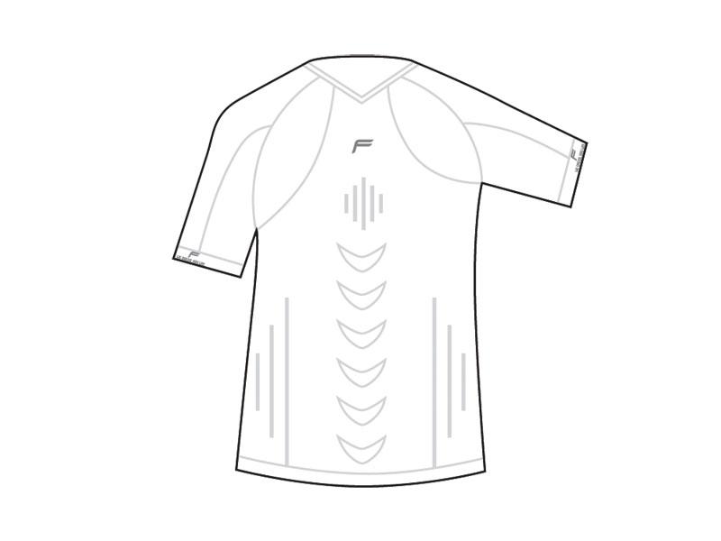 Koszulka męska FUSE STAYCOOL Megalight 140 T-Shirt / XXL biała