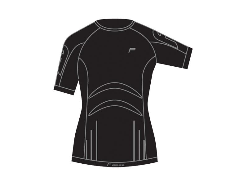 Koszulka damska FUSE ALLSEASON Megalight 200 T-Shirt / XL czarna