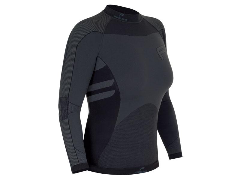 Koszulka damska FUSE FUSEPRO 200 długi rękaw / M czarna