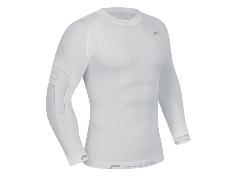 Koszulka męska FUSE ALLSEASON Megalight 200 długi rękaw / M biała