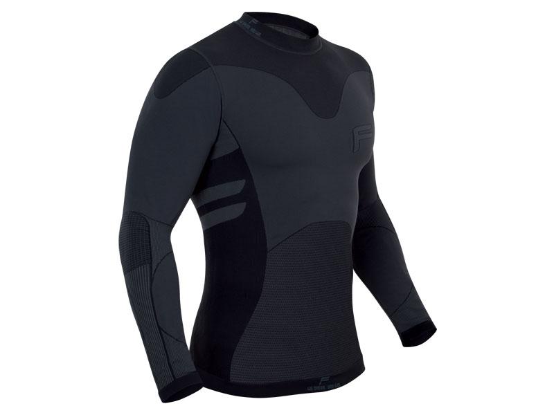 Koszulka męska FUSE FUSEPRO 280 długi rękaw / XXL czarna
