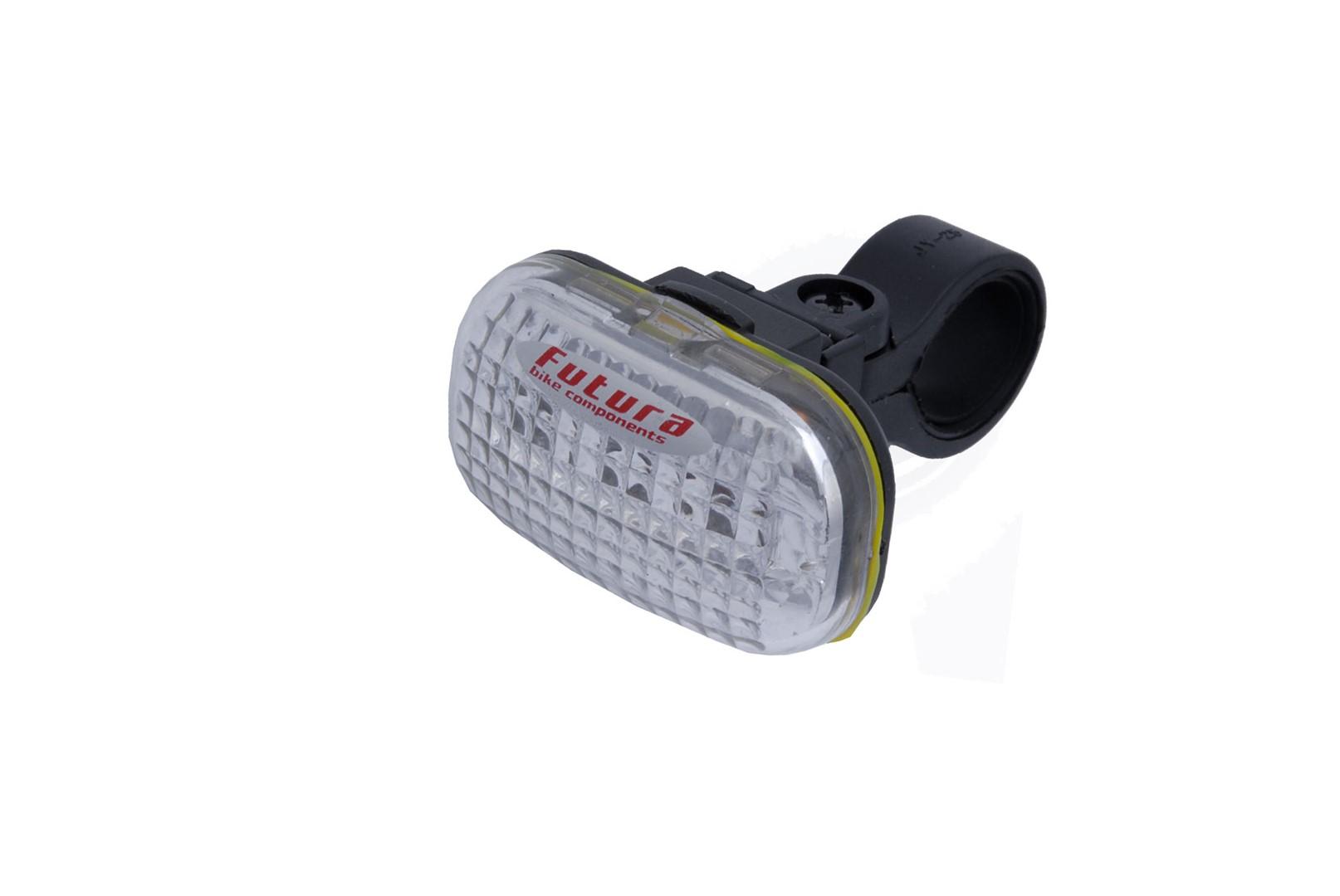Lampka przednia FUTURA CLASSIC F + baterie