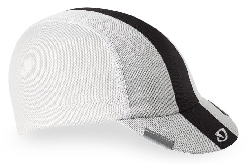 Czapka GIRO PELOTON CAP white black grey (NEW)