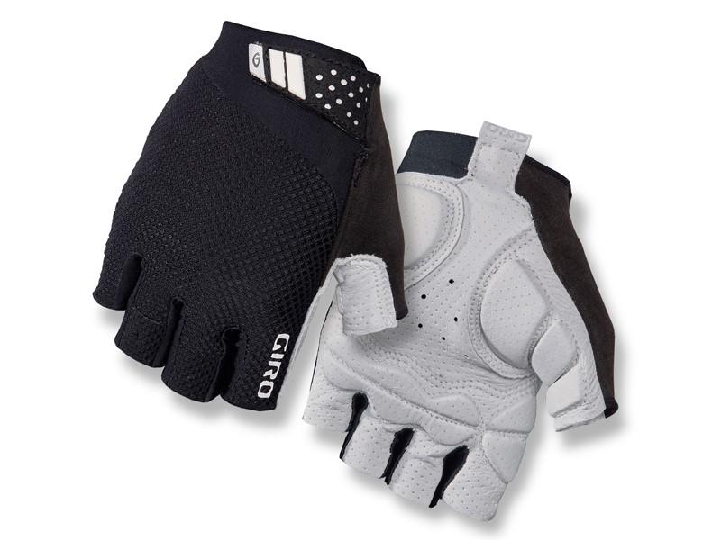 Rękawiczki damskie GIRO MONICA II GEL krótki palec black roz. M (obwód dłoni 170-189 mm / dł. dłoni 161-169 mm) (NEW)