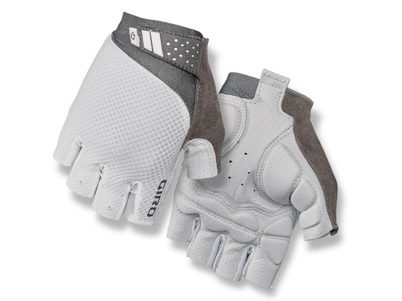 Rękawiczki damskie GIRO MONICA II GEL krótki palec white roz. L (obwód dłoni 190-210 mm / dł. dłoni 170-177 mm) (NEW)