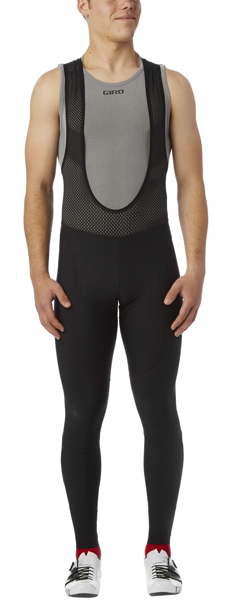 Spodenki męskie GIRO CHRONO EXPERT THERMAL BIB TIGHT black roz. M (NEW)