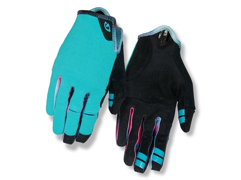 Rękawiczki damskie GIRO LA DND długi palec glacier tie-dye roz. M