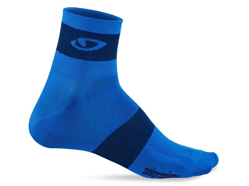 Skarpety GIRO COMP RACER blue midnight roz. M (40-42) (NEW)