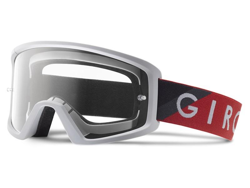 Gogle GIRO BLOK red grey