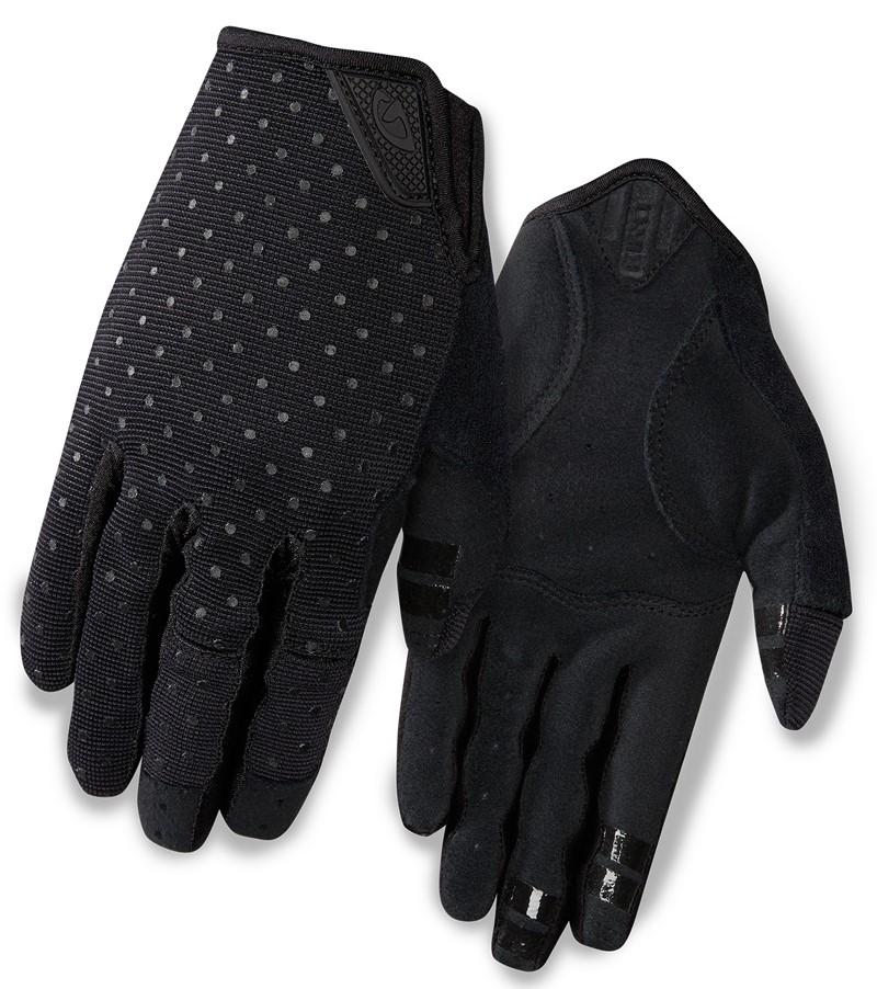 Rękawiczki damskie GIRO LA DND długi palec black dots roz. XL (NEW)