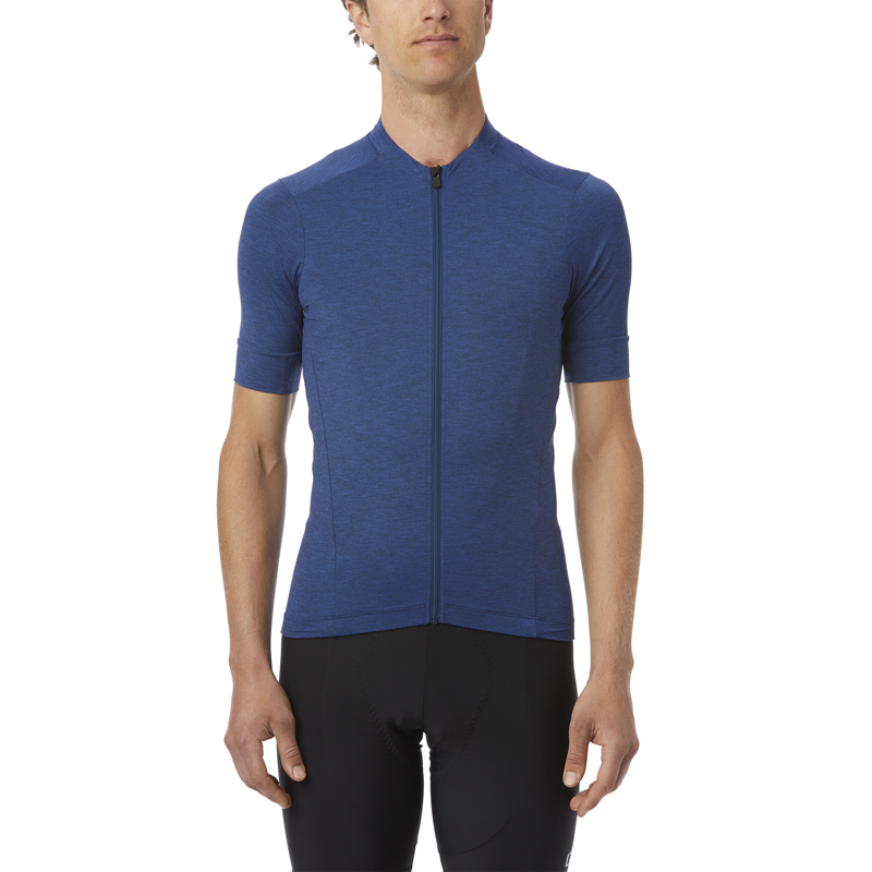 Koszulka męska GIRO NEW ROAD VENTURE JERSEY krótki rękaw midnight blue heater roz. M (NEW)