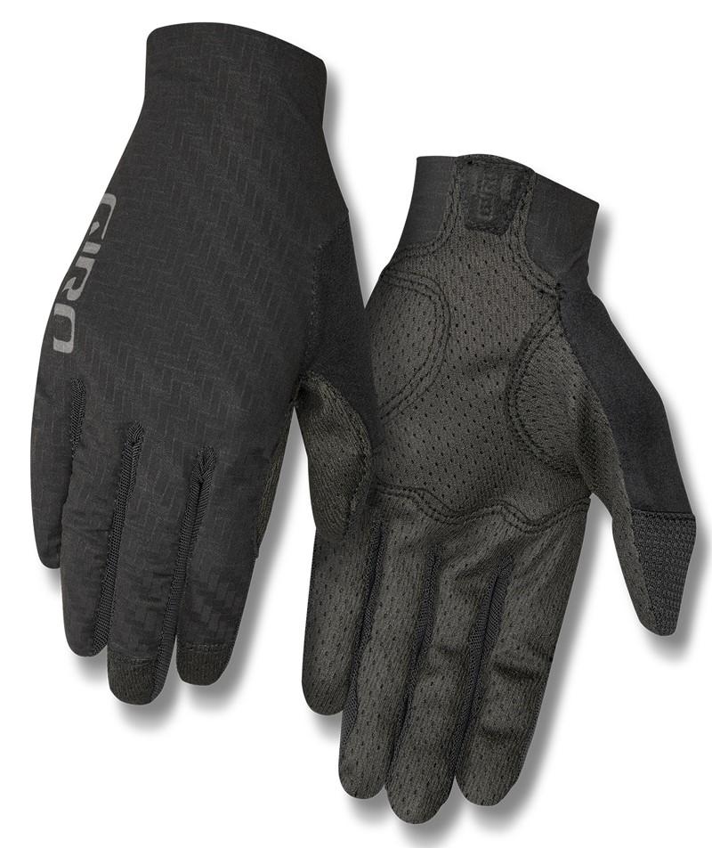 Rękawiczki damskie GIRO RIV'ETTE CS długi palec titanium black roz. XL (NEW)