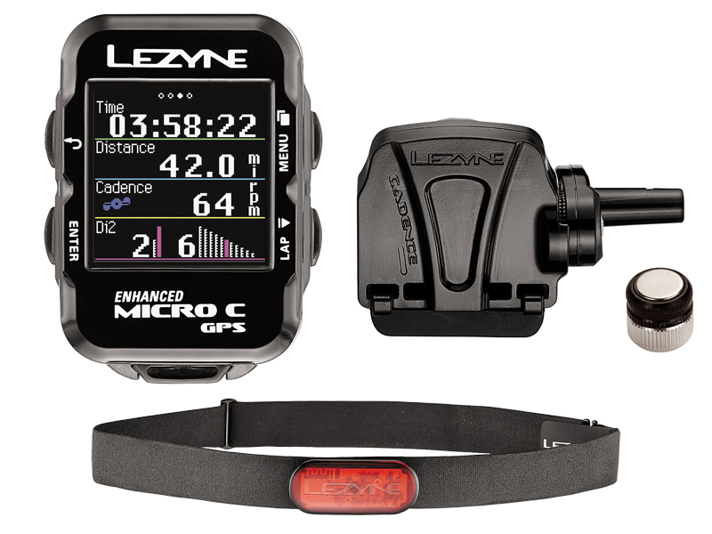 Komputer rowerowy LEZYNE Micro Color GPS HRSC Loaded