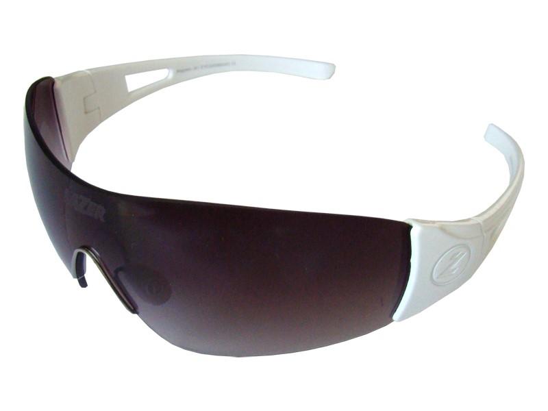 Okulary LAZER MAGNETO Gloss White (Smoke Gradient, Yellow-Blue Mirror, Clear)
