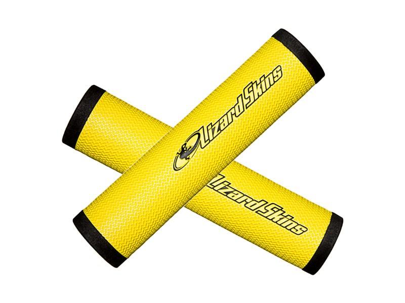 Chwyty kierownicy LIZARDSKINS DSP 32.3 gr.32.3mm 130mm żółte