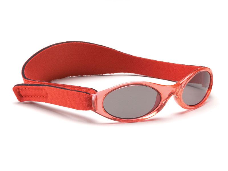 Okularki dziecięce OKBABY roz. 0-2 lata, czerwone