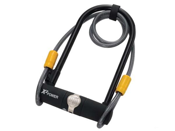 Zapięcie rowerowe ONGUARD 5801 U-LOCK - 11mm 115mm 230mm - 2 x Klucze + linka 10mm 120cm