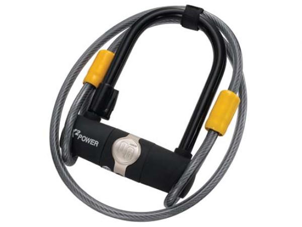 Zapięcie rowerowe ONGUARD 5810 U-LOCK - 11mm 90mm 140mm - 2 x Klucze + linka 10mm 120cm